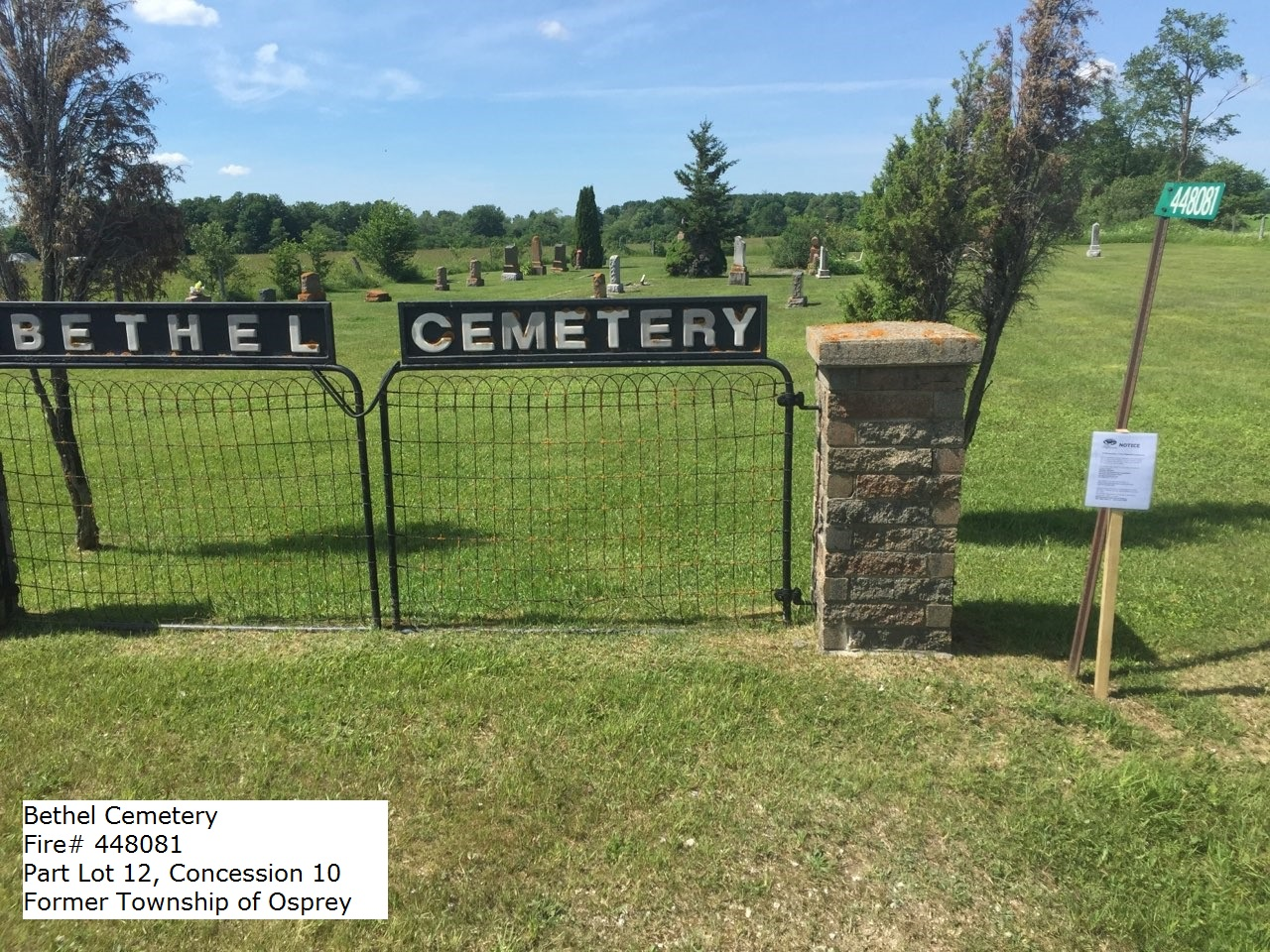 Picture of Bethel Cemetery