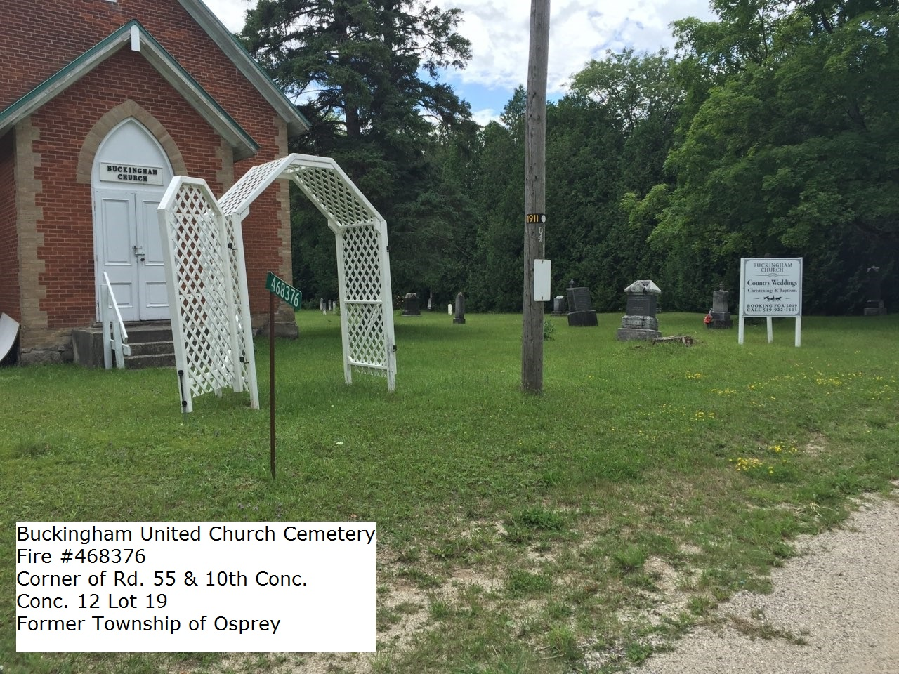 Picture of Buckingham United Church Cemetery