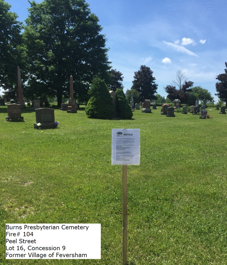 Picture of Burns Presbyterian Cemetery
