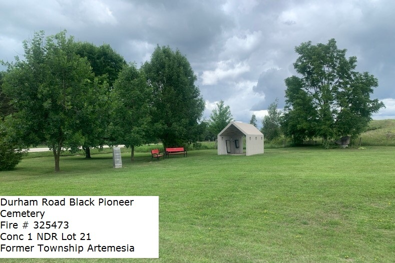 Picture of Old Durham Road Black Pioneer Cemetery