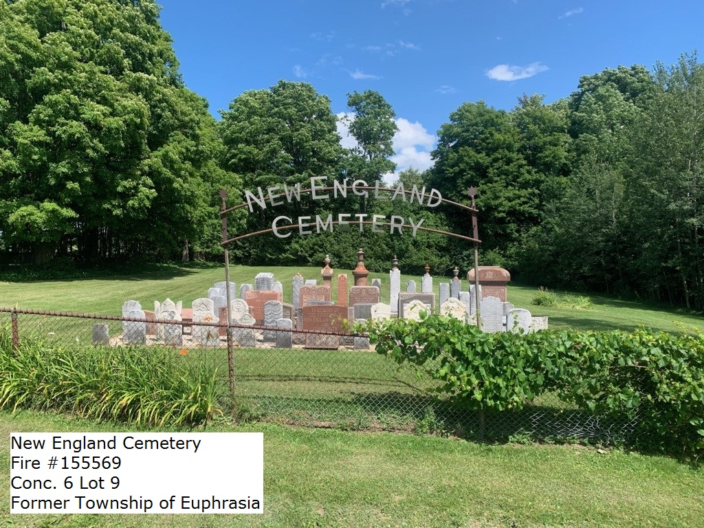 Picture of New England Cemetery