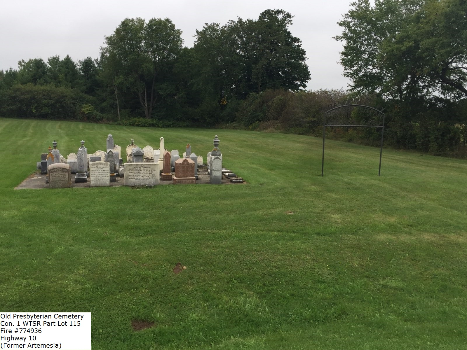 Picture of Old Presbyterian Cemetery (Cookes Presbyterian
